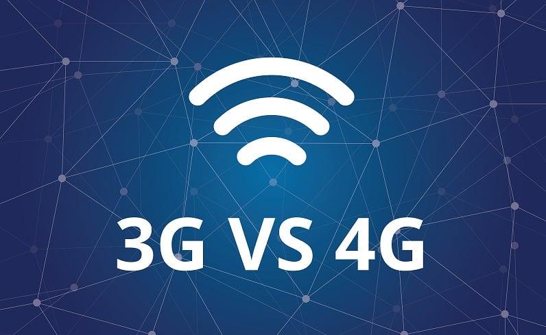 Разница между 3G и 4G сетями