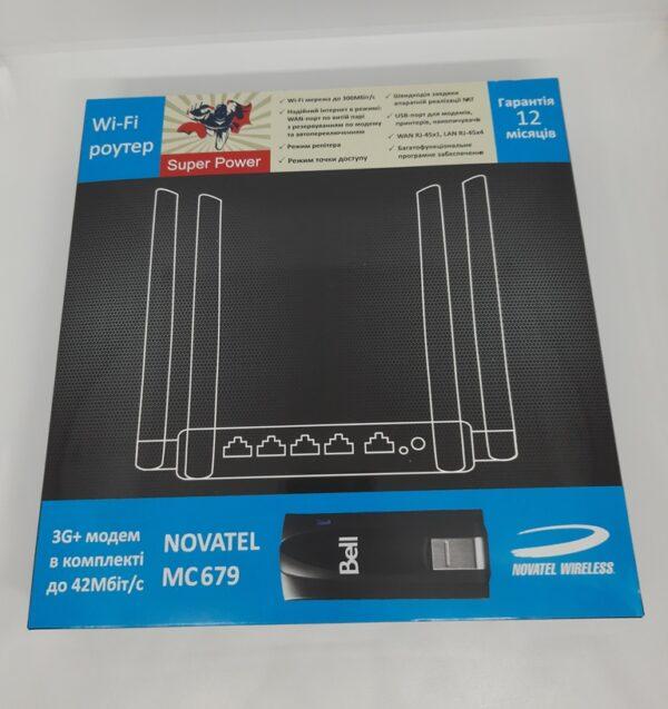Комплект Super Power 3G 4G WiFi Роутер и 3G+ модем Novatel MC679